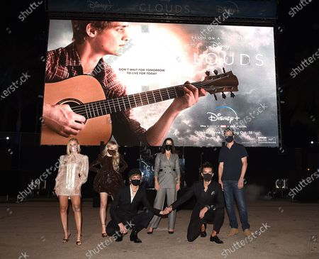Editorial picture of 'Clouds' film premiere, Disney Plus Drive-In Festival, Barker Hangar, Santa Monica, Los Angeles, California, USA - 12 Oct 2020