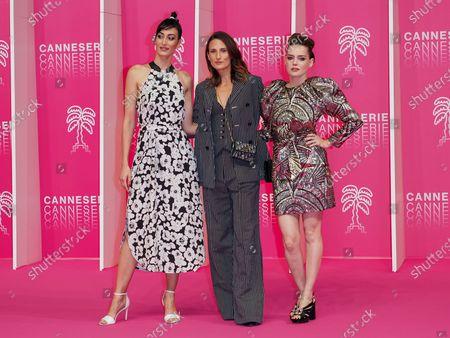 Laetitia Eido, Camille Cottin and Roxane Mesquida
