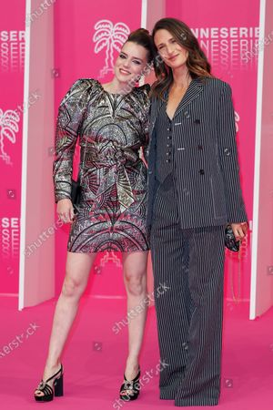 Roxane Mesquida and Camille Cottin