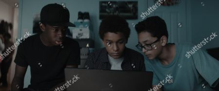 Gerald Jones III as Bobby Carter, Jaden Michael as Miguel Martinez and Gregory Diaz IV as Luis Acosta