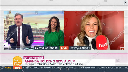 Editorial picture of 'Good Morning Britain' TV Show, London, UK  - 13 Oct 2020