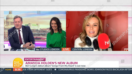 Editorial photo of 'Good Morning Britain' TV Show, London, UK  - 13 Oct 2020