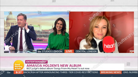 Editorial image of 'Good Morning Britain' TV Show, London, UK  - 13 Oct 2020