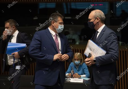 Editorial photo of EU General Affairs ministers meets in Luxembourg on Brexit issues, Lux - 13 Oct 2020