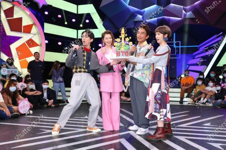 Stock Picture of Vivian Hsu comes to Jacky Wu, Hank Chen and Lulu