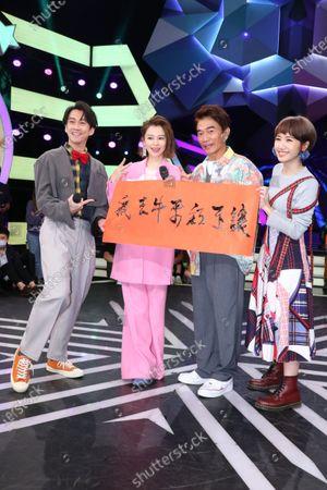 Vivian Hsu comes to Jacky Wu, Hank Chen and Lulu