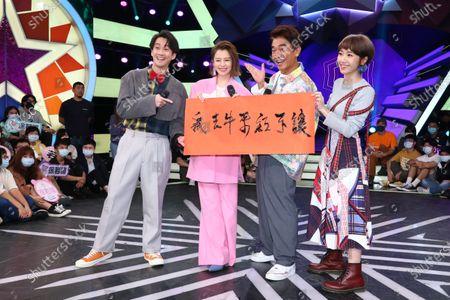 Editorial image of 'Hot Door Night' album promotion, Taipei, Taiwan, China - 12 Oct 2020
