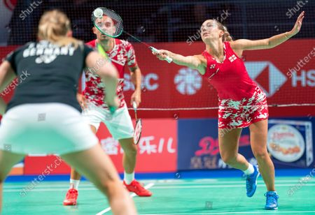 Editorial image of Denmark Open badminton tournament in Odense - 13 Oct 2020