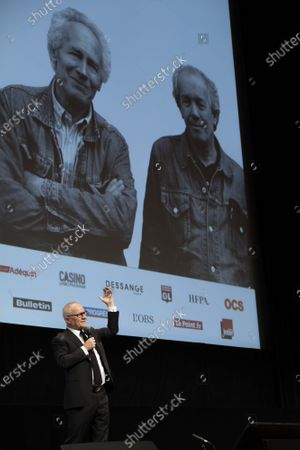 Editorial image of Opening Ceremony at the 12th Lyon Film Festival, Lyon, France - 10 Oct 2020