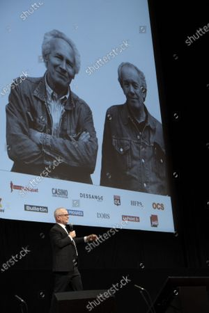 Editorial photo of Opening Ceremony at the 12th Lyon Film Festival, Lyon, France - 10 Oct 2020