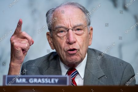 Sen. Charles Grassley, R-Iowa, during a confirmation hearing for Supreme Court nominee Amy Coney Barrett before the Senate Judiciary Committee, on Capitol Hill in Washington