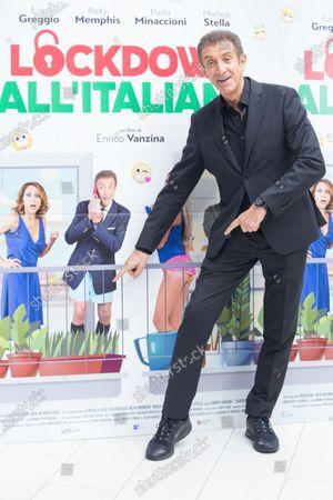Editorial photo of 'Italian Lockdown' photocall, Rome, Italy - 12 Oct 2020