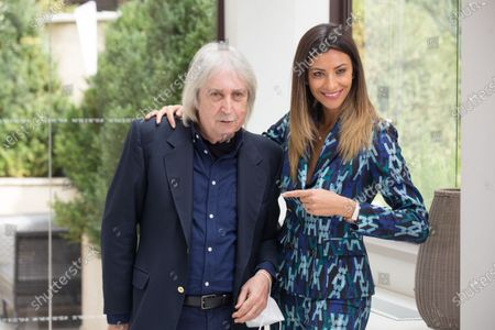 Romina Pierdomenico and Enrico Vanzina