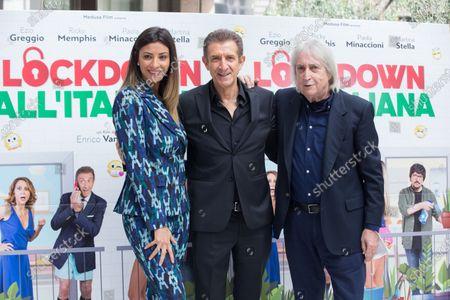 Editorial image of 'Italian Lockdown' photocall, Rome, Italy - 12 Oct 2020