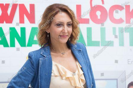 Stock Picture of Paola Minaccioni