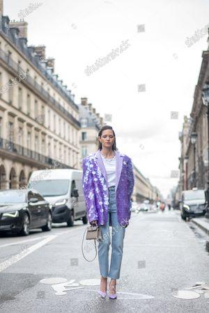 Street style, Maria Helena Bordon