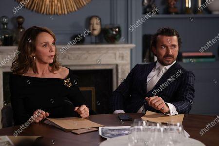 Philippine Leroy-Beaulieu as Sylvie Grateau and William Abadie as Antoine Lambert