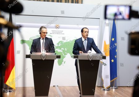 Editorial picture of German Foreign Minister Heiko Maas visits Cyprus, Nicosia - 13 Oct 2020