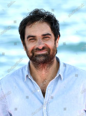 Gregory Montel poses during a photocall for the TV series 'Dix pour cent' at the Cannes Series Festival in Cannes, France, 13 October 2020. The event runs from 09 to 14 October.
