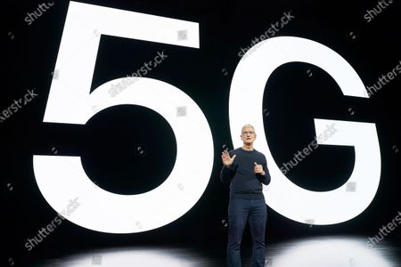 Editorial image of Apple special event, Cupertino, USA - 13 Oct 2020