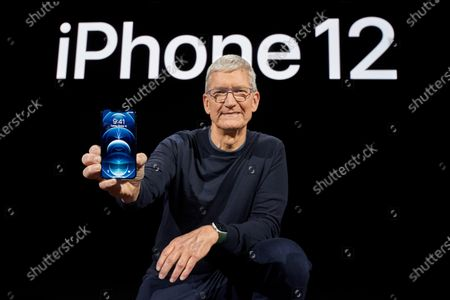 Editorial picture of Apple special event, Cupertino, USA - 13 Oct 2020