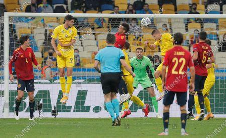 Editorial photo of Ukraine vs Spain, Kiev - 13 Oct 2020