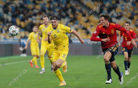 Editorial picture of Ukraine vs Spain, Kiev - 13 Oct 2020