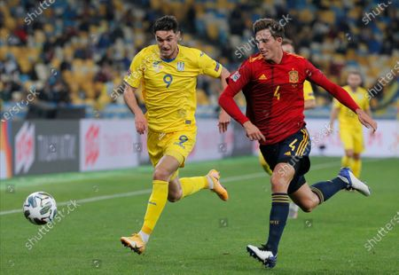 Editorial image of Ukraine vs Spain, Kiev - 13 Oct 2020