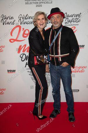 Melita Toscan du Plantier and Christian Louboutin