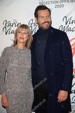 Karin Viard and Laurent Lafitte
