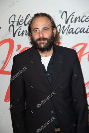 Stock Image of Actor Vincent Macaigne