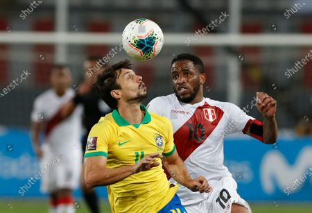 Editorial image of Brazil Wcup Soccer, Lima, Peru - 13 Oct 2020