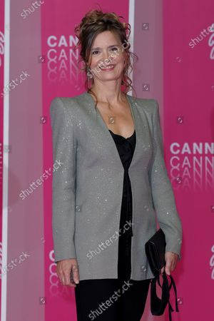 Editorial picture of Pink Carpet, Day Five, 3rd Canneseries, Cannes, France - 13 Oct 2020