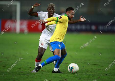 Editorial photo of Brazil Wcup Soccer, Lima, Peru - 14 Oct 2020