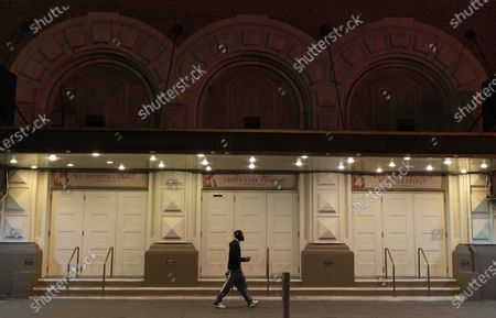 Editorial image of Broadway shows suspended until 2021, New York, USA - 13 Oct 2020