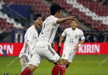 Editorial photo of Football/Soccer:Friendly match Japan v. Cote d'Ivoire, Utrecht, Netherlands - 13 Oct 2020