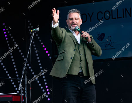 Editorial picture of The Big Showtime Tour by Connect2you, Fremantle Court, Aylesbury, Buckinghamshire, UK - 13 Oct 2020