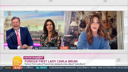 Carla Bruni-Sarkozy, Piers Morgan, Susanna Reid