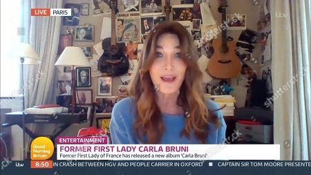 Stock Image of Carla Bruni-Sarkozy