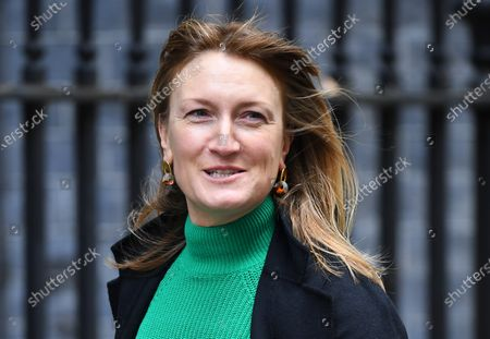 Allegra Stratton, director of strategic communications at the Treasury.  Stratton has been announced as the new press secretary for No.10 Downing Street.