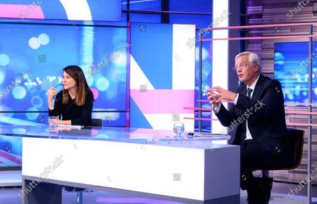 Stock Image of David Davis MP and Liz Kendall MP