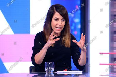 Editorial photo of 'Peston' TV show, Series 6, Episode 32, London, UK - 14 Oct 2020