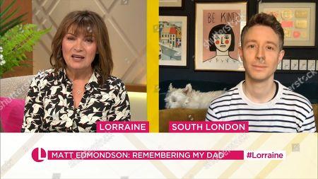 Lorraine Kelly, Matt Edmondson