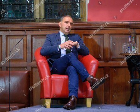 Editorial picture of Sir Mark Sedwill at Oxford Union, UK - 07 Oct 2020