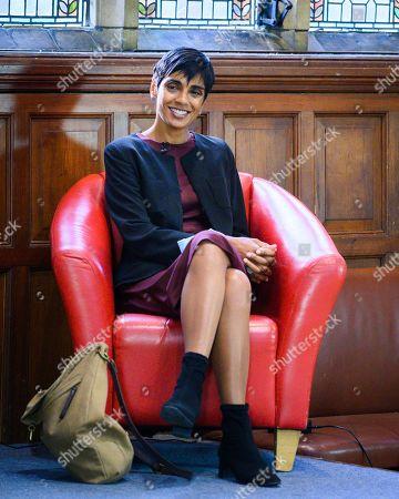 Editorial photo of Reeta Chakrabarti at Oxford Union, UK - 13 Oct 2020