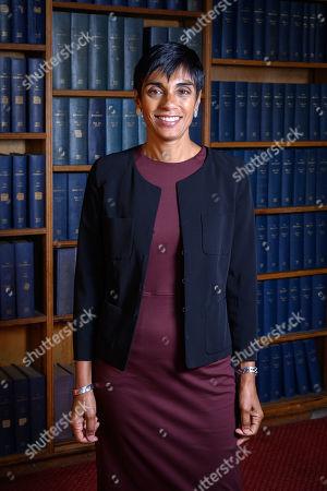 Editorial picture of Reeta Chakrabarti at Oxford Union, UK - 13 Oct 2020