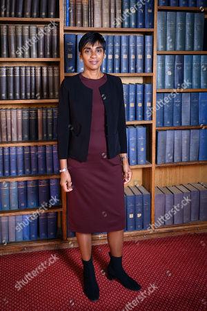 Reeta Chakrabarti, British journalist, newsreader and presenter for BBC News speaking to the Oxford Union
