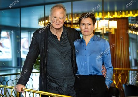 Stellan Skarsgard and director Maria Sodahl