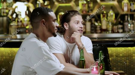Stock Photo of Wes Nelson and Eyal Booker.