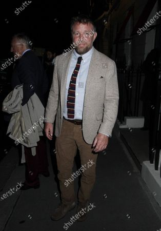Editorial image of Guy Ritchie out and about, London, UK - 05 Oct 2020
